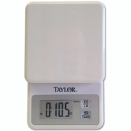 Taylor 3817 Scale Kitchen Digital Wht 11 Pound