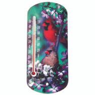 Taylor 5204 Cardinals 8 Inch Suction Cup Window Thermometer