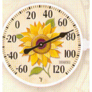 Taylor 5638 6 Inch Thermometer Sunflowr