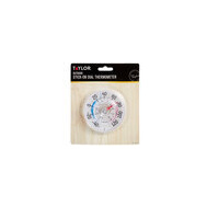 Taylor 5321 N 3-1/2 Inch Stick-On Dial Thermometer With Suction Cup Design