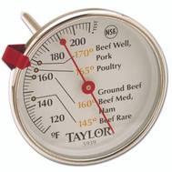 Taylor 5939N Meat Thermometer Large Dial