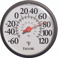 Taylor 6700/5373 13-1/4 Inch Easy Read Dial Thermometer