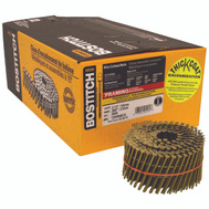 Stanley Bostitch C8R99BCG 2-1/2 Inch By 0.099 Galvanized Ring Shank 15 Degree Coil Framing Nails (Pack Of 3600)