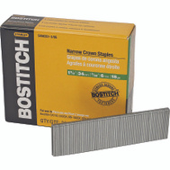 Stanley Bostitch SX50351-3/8G 1-3/8 Inch Leg 7/32 Inch Crown 18 Gauge Finish Construction Staples (Pack Of 3000)