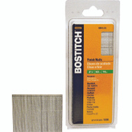 Stanley Bostitch SB16-2.50 2-1/2 Inch 16-Gauge Straight Finish Nails (Pack Of 2500)