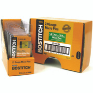 Stanley Bostitch PT-2312-3M 1/2 Inch 23-Gauge Headless Micro Pins (Pack Of 3000)