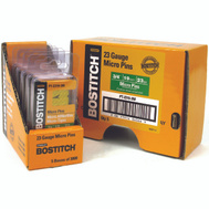 Stanley Bostitch PT-2319-3M 3/4 Inch 23-Gauge Headless Micro Pins (Pack Of 3000)