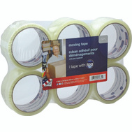 Intertape Polymer 2662 Carton Sealing Tape Clear 1.88 By 54.6 Yards Pack Of 6