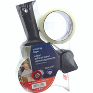 Intertape Polymer 2892 Carton Sealing Tape With Dispenser 1.88 Inch By 54.6 Yards