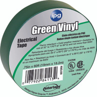 Intertape Polymer 85827 3/4X60ft Green Vinyl Elec Tape