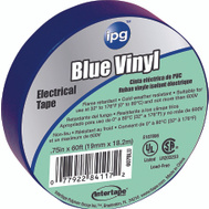 Intertape Polymer 85831 3/4X60ft Blue Vinyl Elec Tape