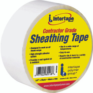 Intertape Polymer 5518USW Sheathing Tape White 1 7/8 Inch By 55 Yards