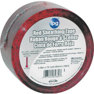 Intertape Polymer 5560CDNR Contractor Grade Sheathing Tape 2.36 Inch By 72.1 Yard Roll Red