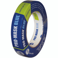 Intertape Polymer PMD24 Pro-Mask Blue 14 Day Masking Tape 0.94 Inch By 60 Yards