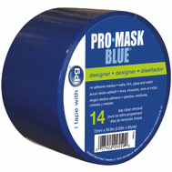 Intertape Polymer PMD72 Pro-Mask Blue 14 Day Masking Tape 2.83 Inch By 60 Yards