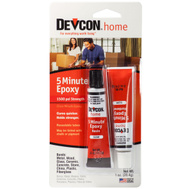Devcon 20545 5 Minute Paintable 5 Minute Epoxy With 1500 PSI Strength Clear
