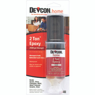 Devcon 31345 2 Ton Medium-Cure High Strength Clear Epoxy Adhesive 0.84 Fluid Ounce Tube