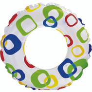 Intex Recreation 59230EP Rings Swim Assrt 3&Up 20 In Di