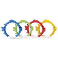 Intex Recreation 55507E 4PC Underwtr Fun Ring
