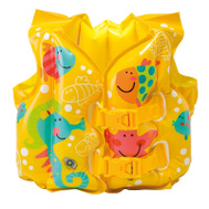 Intex Recreation 59661EP Vest Swim Fun Fish 2-4Yr Child