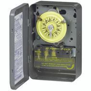 Intermatic T104 Switch Timr 2P 5Hp 40A208-277V