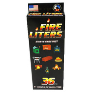 Fire Liters 10836 Fire Lighter Cube 36 Pack