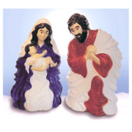Union Products 74100 28 Inch Plas Nativity Set