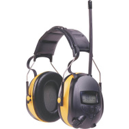 3M 9054190541-80025V TEKK Worktunes Hearing Protector MP3 Compatible With AM/FM Tuner
