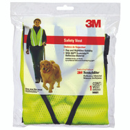 3M 94601-80030T Yellow Reflective Safety Vest