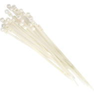 Leviton L10-12539 8 Inch Screw Mount Cable Ties Pack Of 20