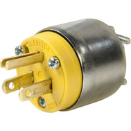 Grounded Male Plugs 110 Volt in Electrical & Lighting