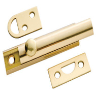 Belwith 1849 3 Inch Brass Surface Bolt