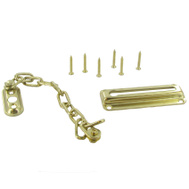 Belwith 1870 Brass Chain Door Fastener