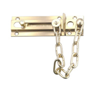 Belwith 1879 Brass Guard/Chain/Bolt