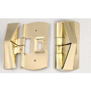 Belwith 1418 Window Vent Lock Bright Brass