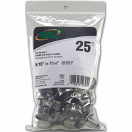 Ideal 6710550 Clamp Hose Nic-Ss 1/2-1-1/16in 25 Bag