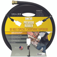 Colorite Swan SNCPM58050 Garden Hose Premium Rubber 5/8 Inch By 50 Foot