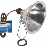 Coleman Cable 0151 Woods 8-1/2 Inch Reflector Clamp Light With 6 Foot Cord