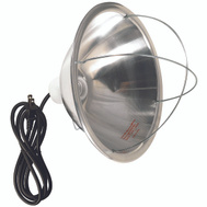 Coleman Cable 0165 10-1/2 Inch Reflector Brooder Lamp With 6 Foot Cord