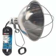 Coleman Cable 0167 10-1/2 Inch Reflector Brooder Lamp With Clamp With 8 Foot Cord