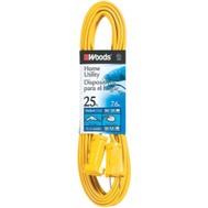 Coleman Cable 0591 16/2 By 25 Foot Flat Indoor Flat Extension Cords