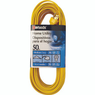 Coleman Cable 0832 16/3 By 50 Foot Single Outlet Extension Cord