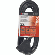 Coleman Cable 2451 Agri Pro 25 Foot 14/3 Oil Resist Powerblock