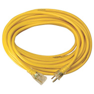Coleman Cable 2884 Yellow Jacket 15 Amp 12 Gauge 50 Foot Contractor Grade Extension Cord