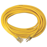 Coleman Cable 2885 Yellow Jacket 15 Amp 12 Gauge 100 Foot Extension Cord