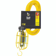Coleman Cable 2948 Yellow Jacket Work Light 50 Foot 16 / 3 13 Amp Yellow Sjtw