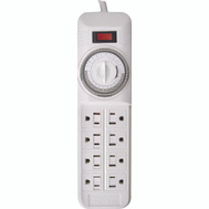 Southwire 22575 Indoor 8 Outlet Power Strip With Timer
