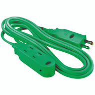 Coleman Cable 418528820 Extension Cord Safety Green 6 Foot