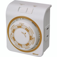 Southwire 50003 Woods Indoor 7 Day Mechanical Vacation Security Timer