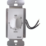 Southwire 59717 Spring Wound 60-Minute In Wall Timer Mechanical Wall Switch White